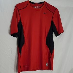 Nike pro combat fitted dri-fit shirt small